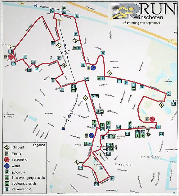 RUN Parcours 2021 blijft ongewijzigd - RUN Winschoten