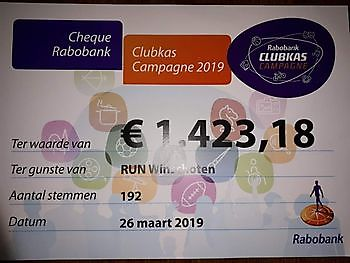 Rabobank Clubkascampagne RUN Winschoten