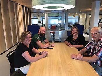 Partners en vrijwilligers Run Winschoten werken samen aan een vitaal Oldambt RUN Winschoten