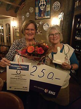 Run winnaar vrijwilligersprijs gemeente Oldambt RUN Winschoten
