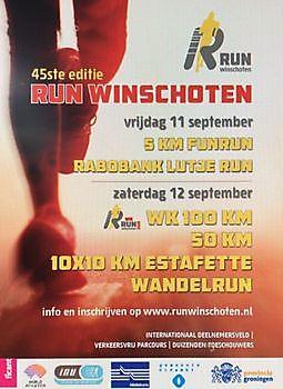 Inschrijving Run 2020 geopend RUN Winschoten